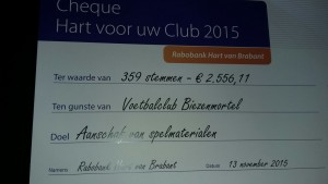 Cheque Rabobank